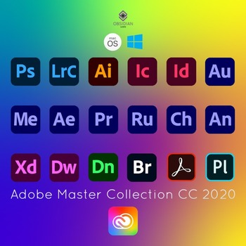 Adobe Creative Cloud 2020 Master Collection For Windows And MacOS Originel   Full Version   Lifetime Activation   ️Multilingual