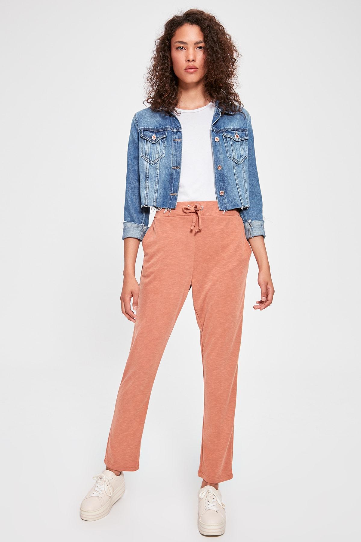 Trendyol Cinnamon Knitting Pants TWOAW20PL0064