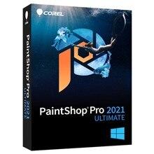 Corel PaintShop Pro 2021 Ultimate Photo editing software Full Version Multilingual Lifetime Activation for Windows