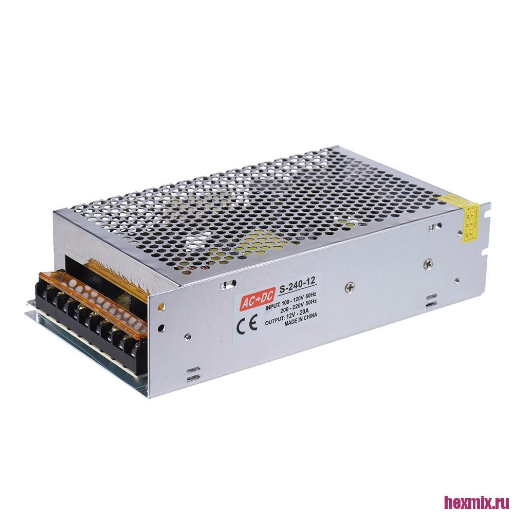 Switching Power Supply S-240-12 12V 20A 240W