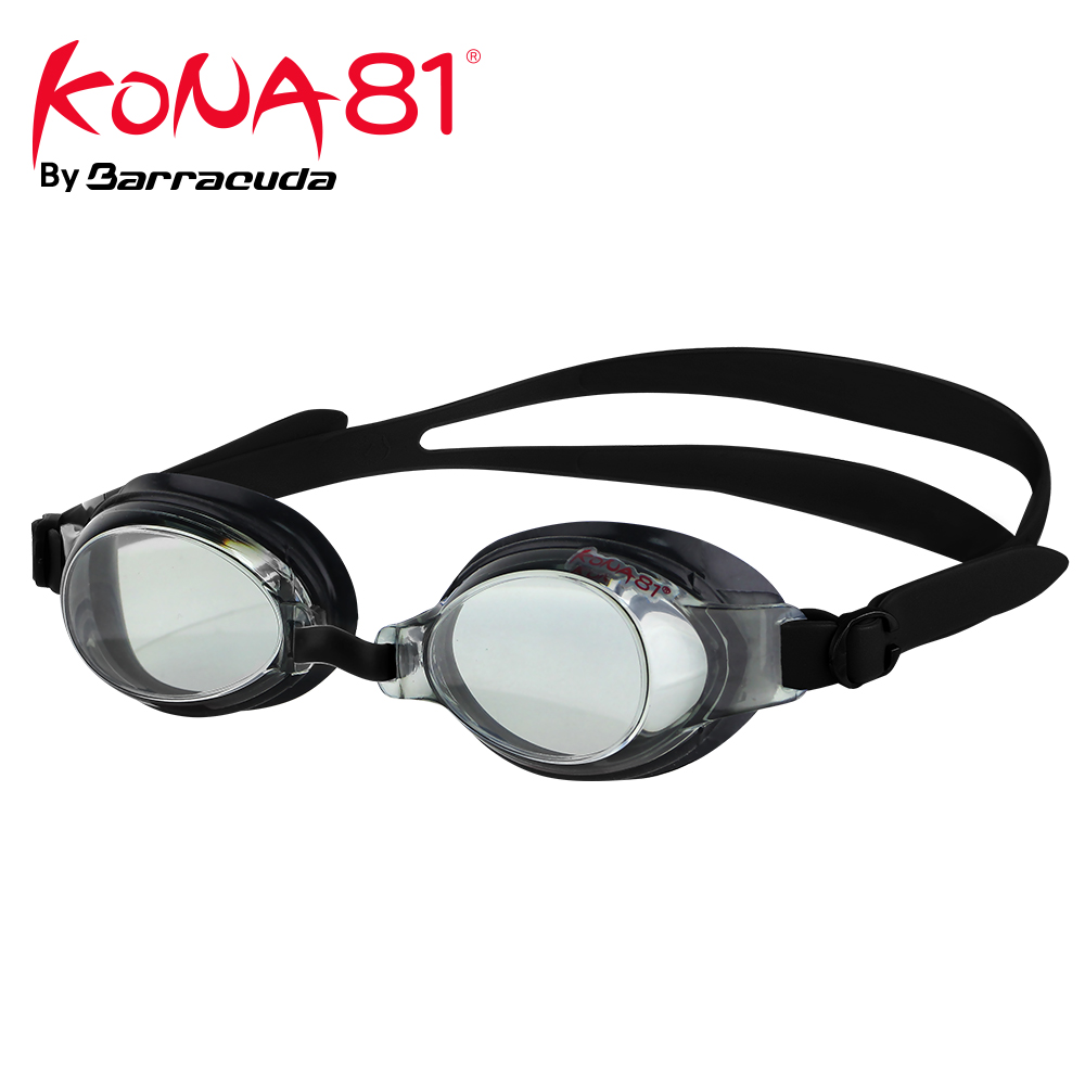 Barracuda Kona81 Myopia Swimming Goggles Customized Corrective Lenses Triathlon UV Protection For Adults #71395 Eyewear