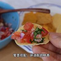 加拿大北极虾番茄玉米片的做法图解12