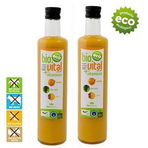 Orange juice machine, Juice Press fresh aloe vera and pollen. Natural mix 100% eco-friendly-GLUTEN free-no NUTS 2 units