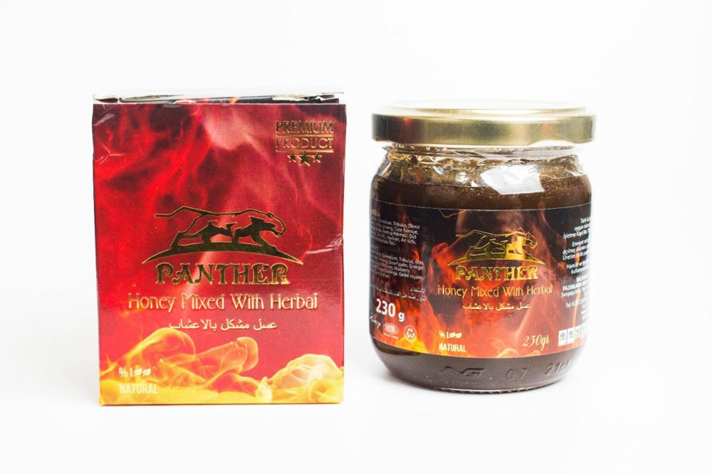 Balsarayi Panther Aphrodisiac Epimedium Turkish Honey Mix – Turkish Macun, 230gr  Horny Goat Weed