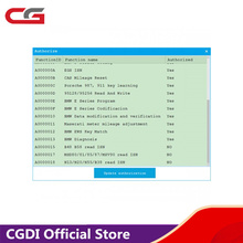 CGDI for BMW Upgrade MSV90/N20/N55/N13/B38/B48/B58/MSD80/MSD81/MSD85/MSD87 Read ISN No Need Opening