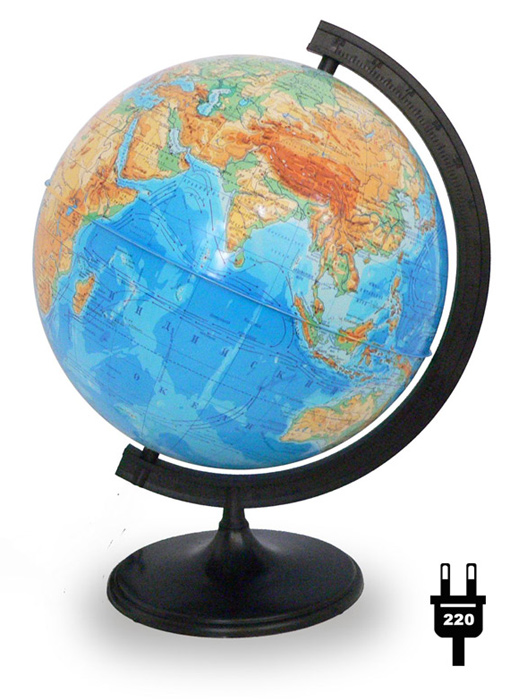 Globe Physical Diameter 320mm With Backlight