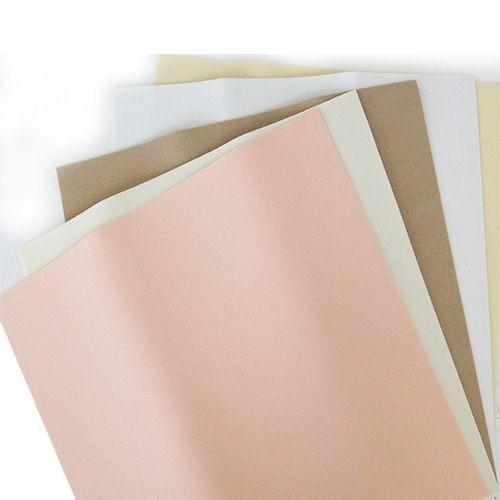 A Set Of Foamiran 1,0mm, 5 Sheets, 25*25 Cm (f-0005 Light)