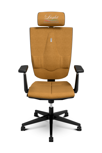 Office Chair KULIK SYSTEM SPACE Bronze Computer Chair Relief And Comfort For The Back 5 Zones Control Spine