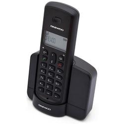 Telefon bezprzewodowy Daewoo DTD 1350 DECT czarny w Telefony od Telefony komórkowe i telekomunikacja na