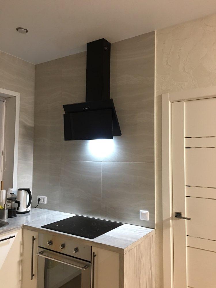 Kitchen range hood LEX LUKA 600 BLACK-in Range Hoods from Home Appliances on AliExpress