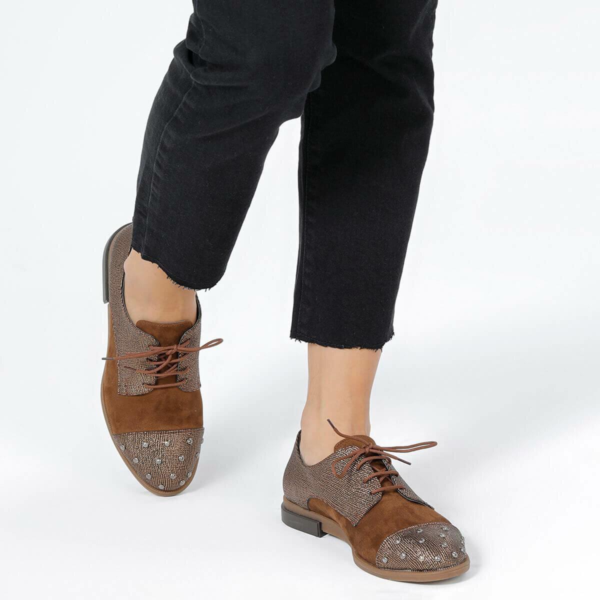 FLO KUMIHO88Z B Copper Color Women Shoes BUTIGO
