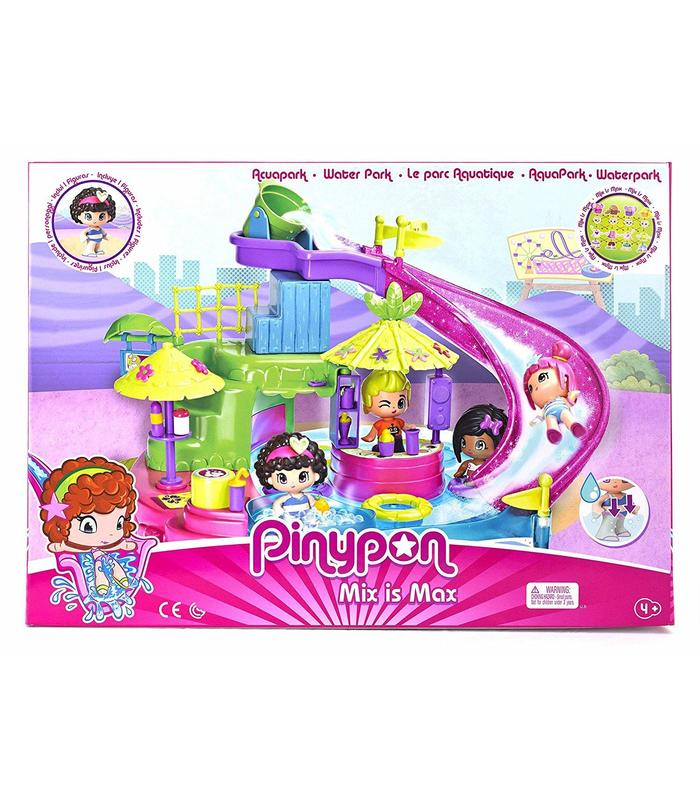 Pin And Pon Aquapark Includes Figure And Accessories Toy Store