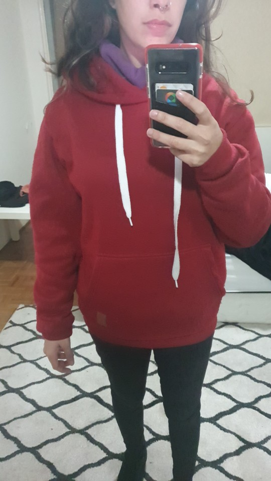 Polyester Men's Hoodie for Fitness photo review