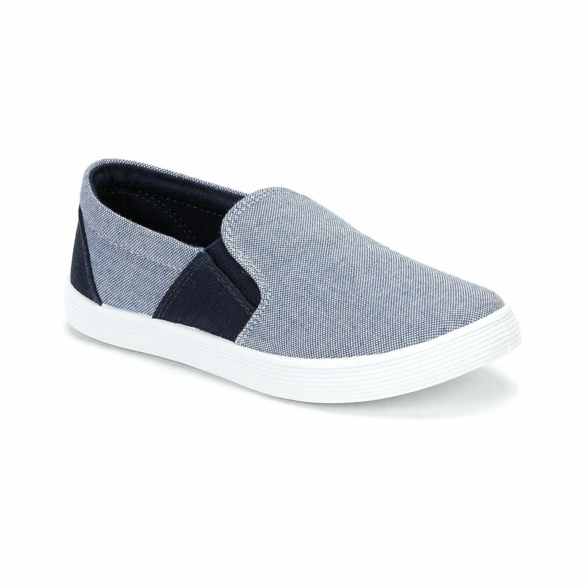 FLO 81.508268.F Blue Male Child Slip On Shoes Polaris