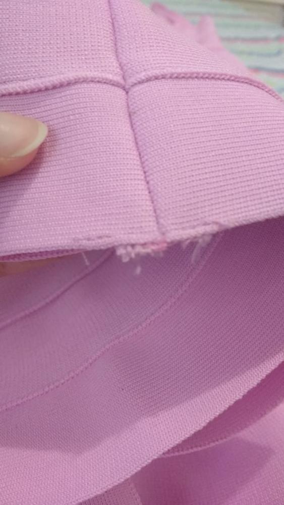 Women Summer Pink Bandage Dress Spaghetti Strap Mermaid V Neck Midi Clubwears Celebrity Evening Party Dress Vestidos photo review