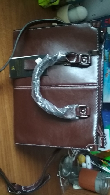 Genuine Leather Crossbody Shoulder Bag photo review
