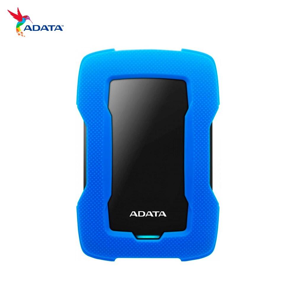 Hard Drive ADATA Hd330 External Hdd-2tb-usb 3.2 Gen1-blue (ahd330-2tu31-cbl)