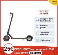 [Versión Garantía Española Oficial] Xiaomi Mi Electric Scooter Pro 2 Patinete Eléctrico Negro 25 km/h,largo alcance 45km, 600 W