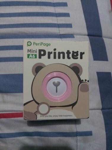 GZM5804 A6 PeriPage Mini Portable Bluetooth Wireless Paper Photo Printer Pocket Thermal Printing USB Connection Impresoras Fotos|Printers|   - AliExpress