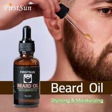 Organic Moisturizing Face Beard Oil 30ml Soften Hair Growth Nourishing for Men B