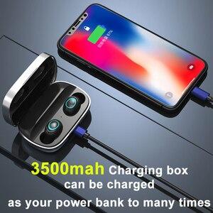 Image 4 - S11 TWS 3500mAh Power Bank Kopfhörer LED Bluetooth 5,0 Kopfhörer Kopfhörer Drahtlose HIFI Stereo Ohrhörer Gaming Headset Mit Mic