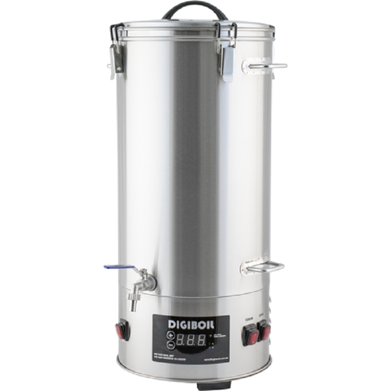 Electric сусловарочный Boiler Digiboil 35 Liters, Brewery With Shopping Cart For Malt