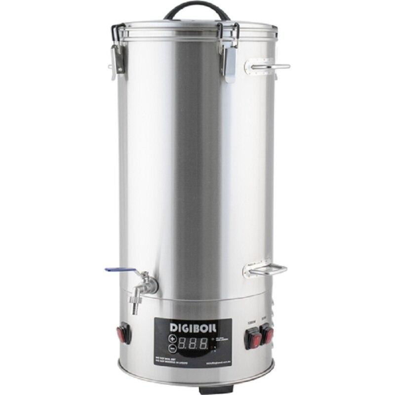 Elektrikli сусловарочный kazan digiboil 35 litre, bira alışveriş sepeti ile malt