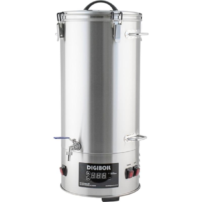 Elettrico сусловарочный caldaia digiboil 35 litri, fabbrica di birra con carrello della spesa per malto