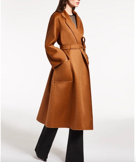 Obrix New Style Fashionable Long Coat For Women 100% Cashmere High Quality Warm Female Autumn Trench