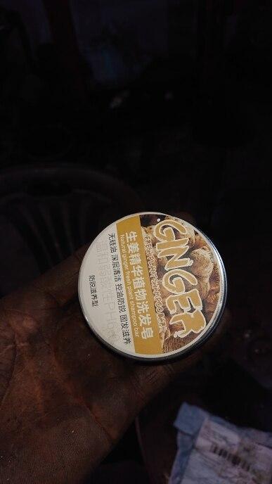 Soap Hair Darkening Shampoo Bar - 100% Natural Organic Conditioner and Repair TSLM1 photo review