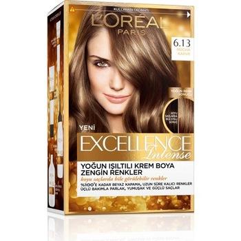Loreal Excellence İntense farba do włosów 6 13 mokka kawa 248528414 tanie i dobre opinie