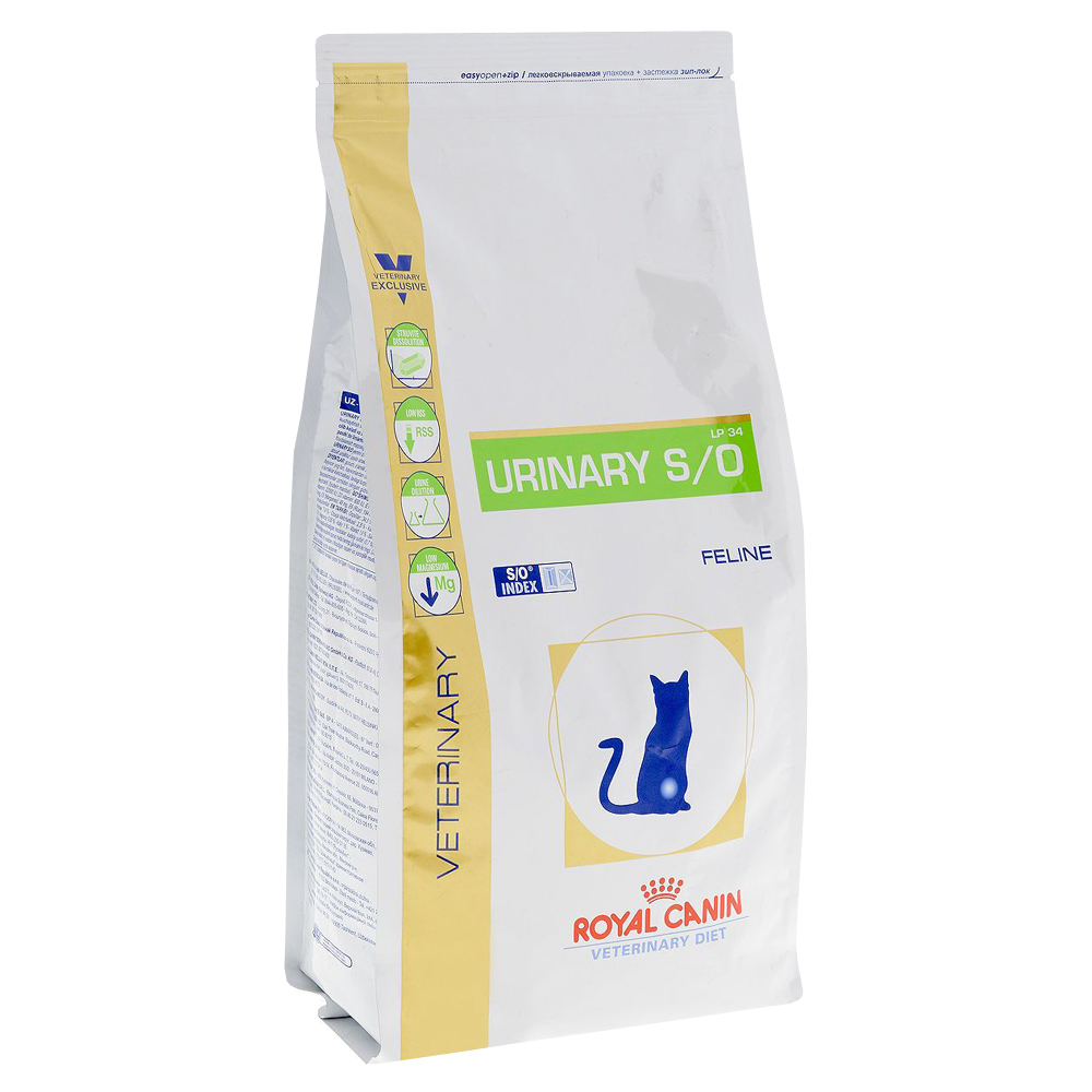 Royal Canin Urinary S/O Cat Food In The Treatment Of ICD, Cat Food, For Cats, 1,5 Kg