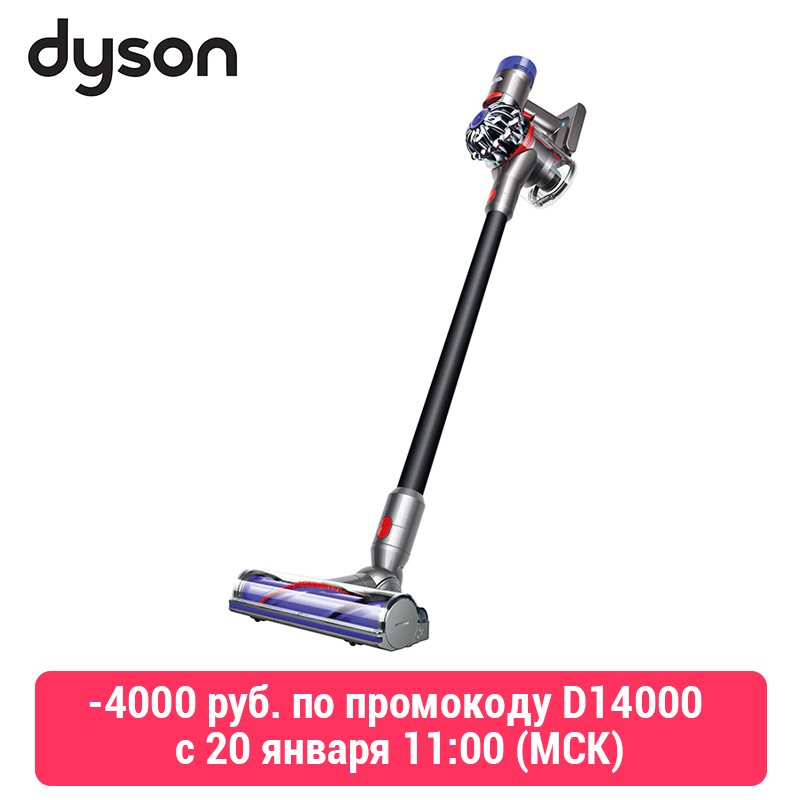 Wireless Vacuum Cleaner Dyson V8 Absolute + Cordless Household Appliance For Home