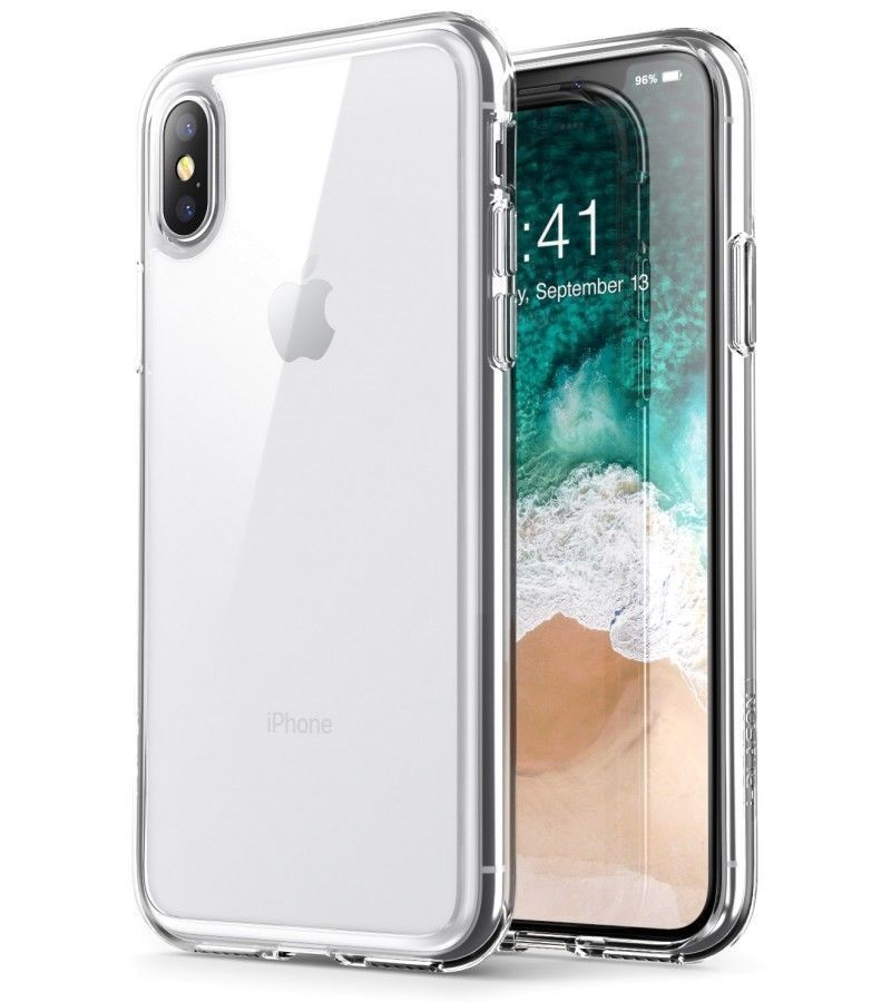 IPhone case X - XS transparent Gel case 100% Flexible perfect fit full access to all connectors