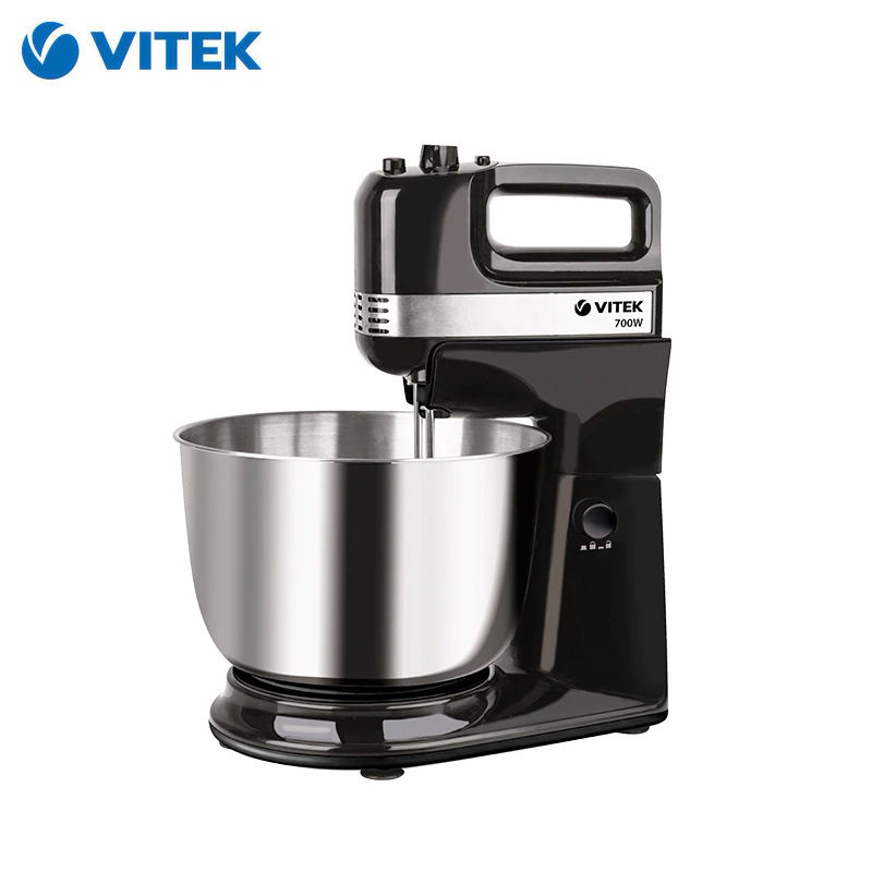 Food Mixer Vitek VT-1425 with bowl planetary stand Household appliances for kitchen kitchen machine vitek vt 1434 mixer with bowl planetary food processor appliances home for the kitchen
