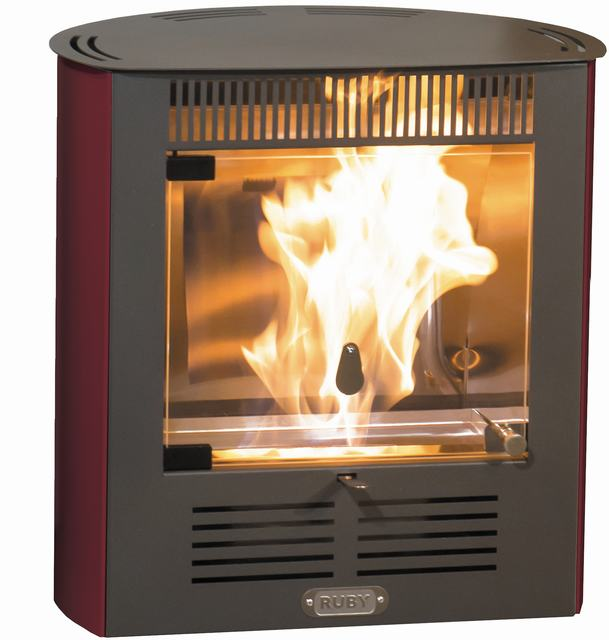 Bioethanol Stove Ruby Smart Ventilated-Lightweight, Compact And Decorative-No Installation, No Smoke, No Electricity