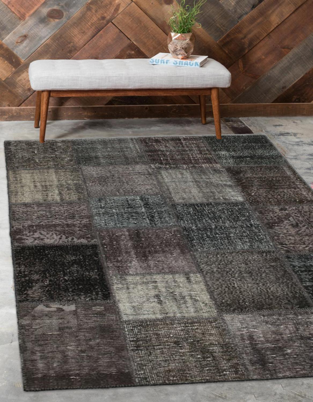 Sonst Schwarz Anatolian Patchwork Teppich Türkische Handgemachte Organische Bereich Teppich Dekorative Wohnkultur Wolle Patchwork Teppich Teppich