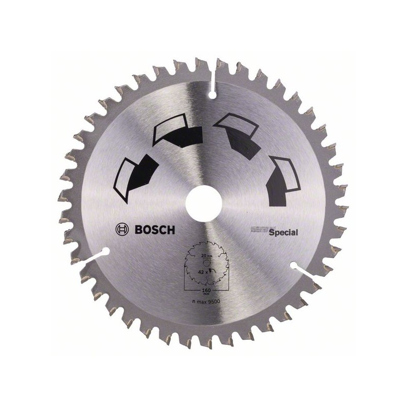 BOSCH-circulate Saw Blade SPECIAL D = 160 Mm
