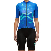 2019 MAAP cycling jersey aero fabric race women short-sleeve suit ropa ciclismo maillot set clothing