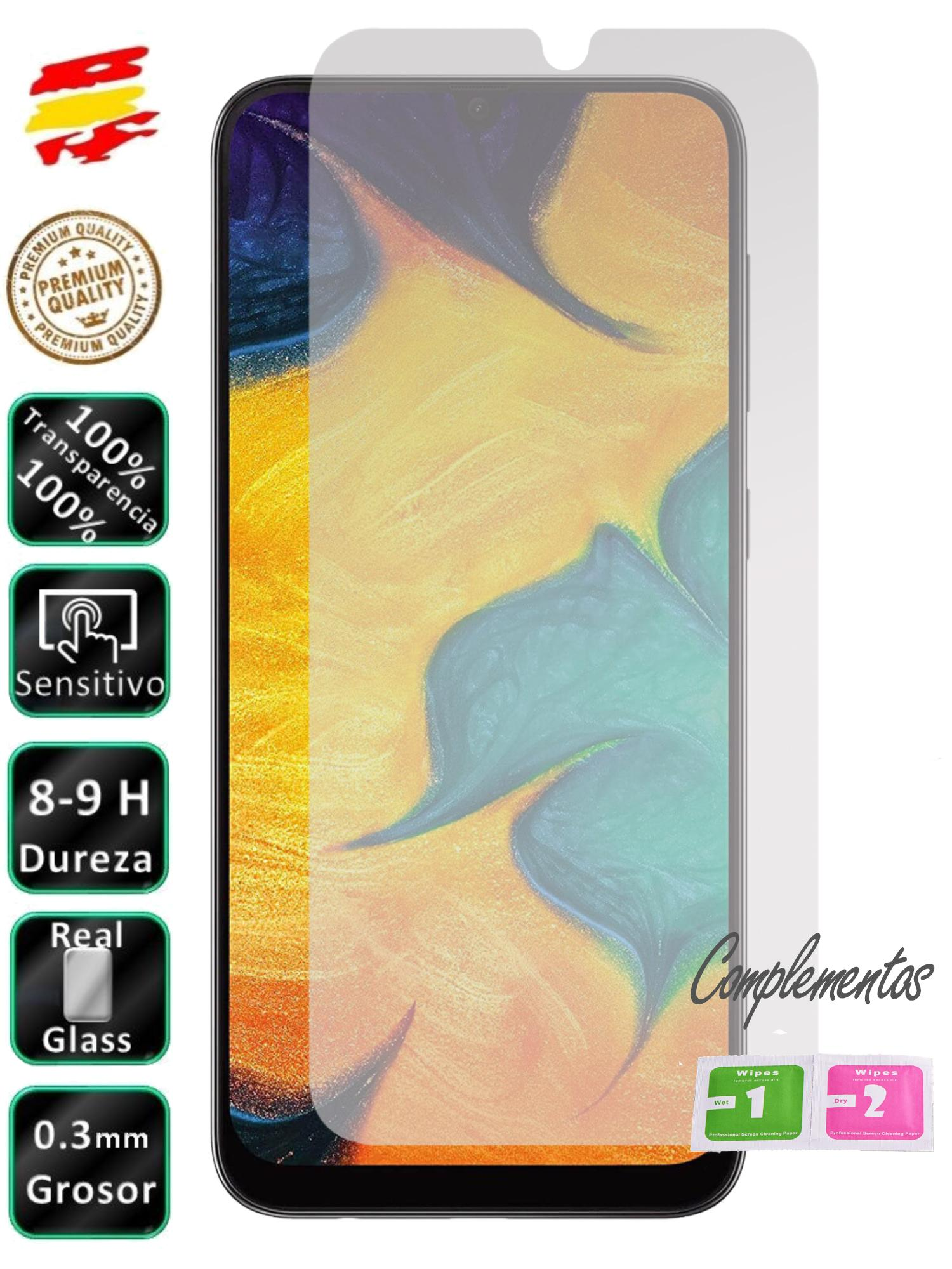 Protector Samsung Galaxy A10 A20e A30s A40 A50 A70 A80 2019 Tempered Glass Vidrio Screen Mobile