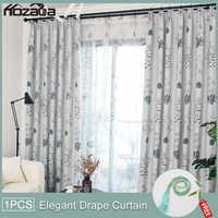 Hozada оконные шторы для гостиной, спальни, кухни, тюлевые шторы и светонепроницаемые шторы
