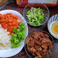牛肉炒饭的做法图解3