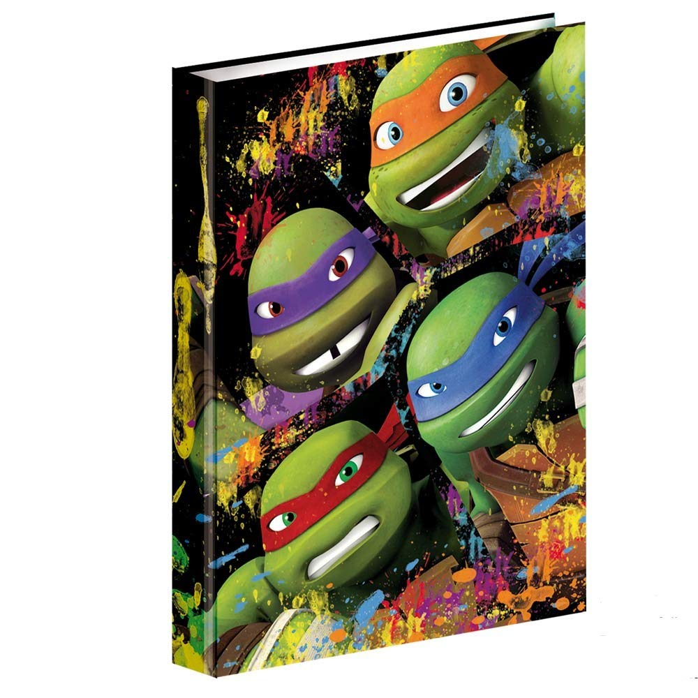 Folder A4 Rings Ninja Turtles T Shirt Together