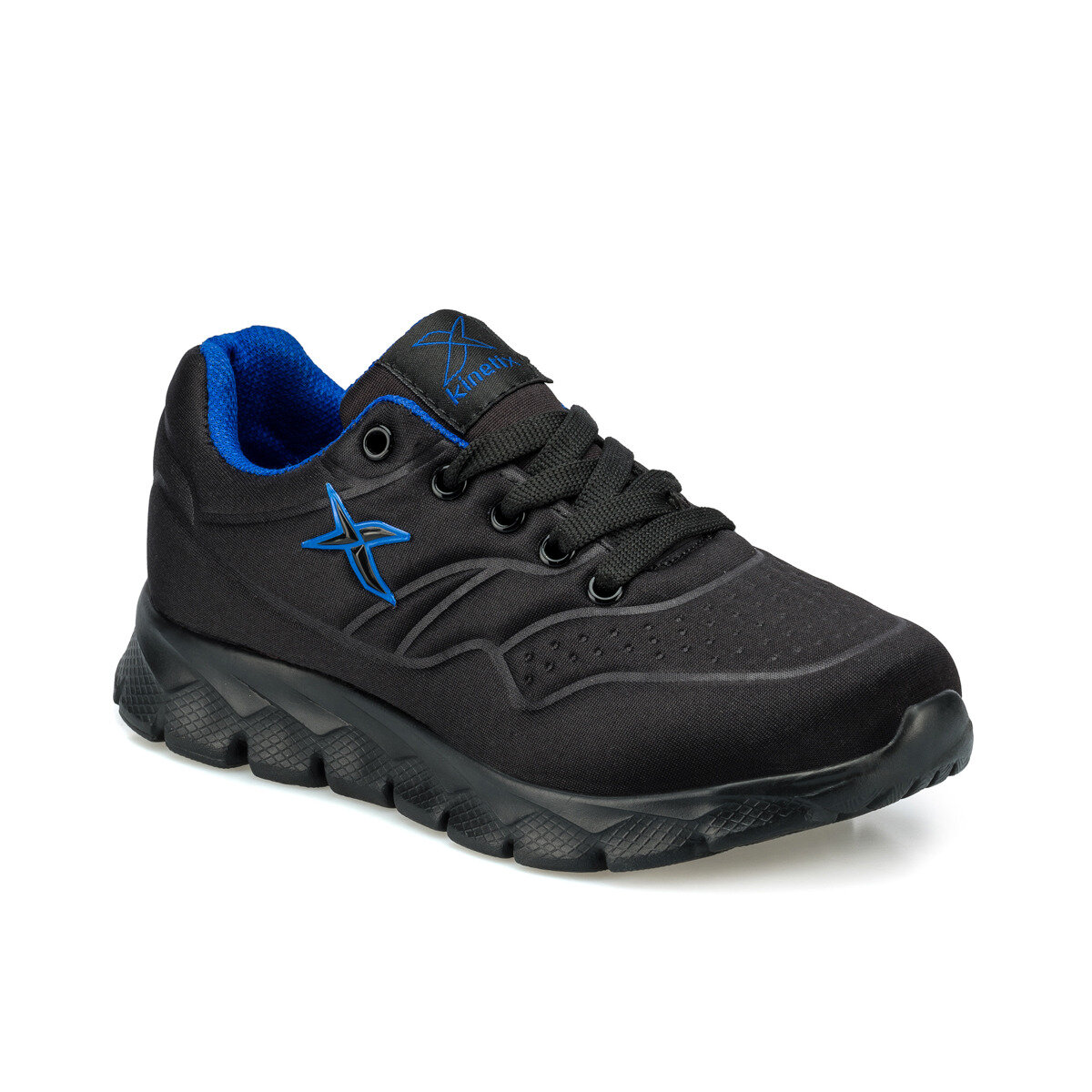FLO FESTO J Black Male Child Hiking Shoes KINETIX