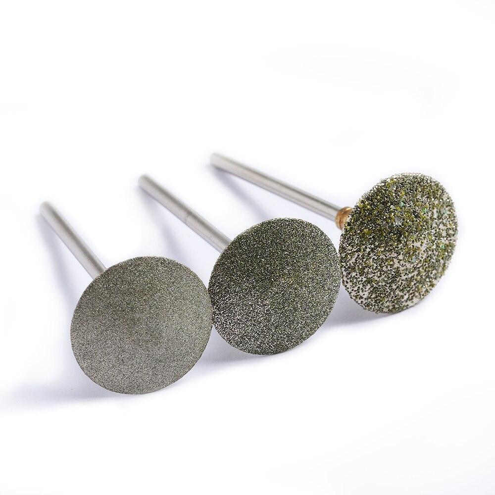 BNG 4 TYPES Diamond Drill Bit Rotary Burr Foot Cuticle Clean Manicure Pedicure Tools Drill Accessories Nail Mills Umbrella 2