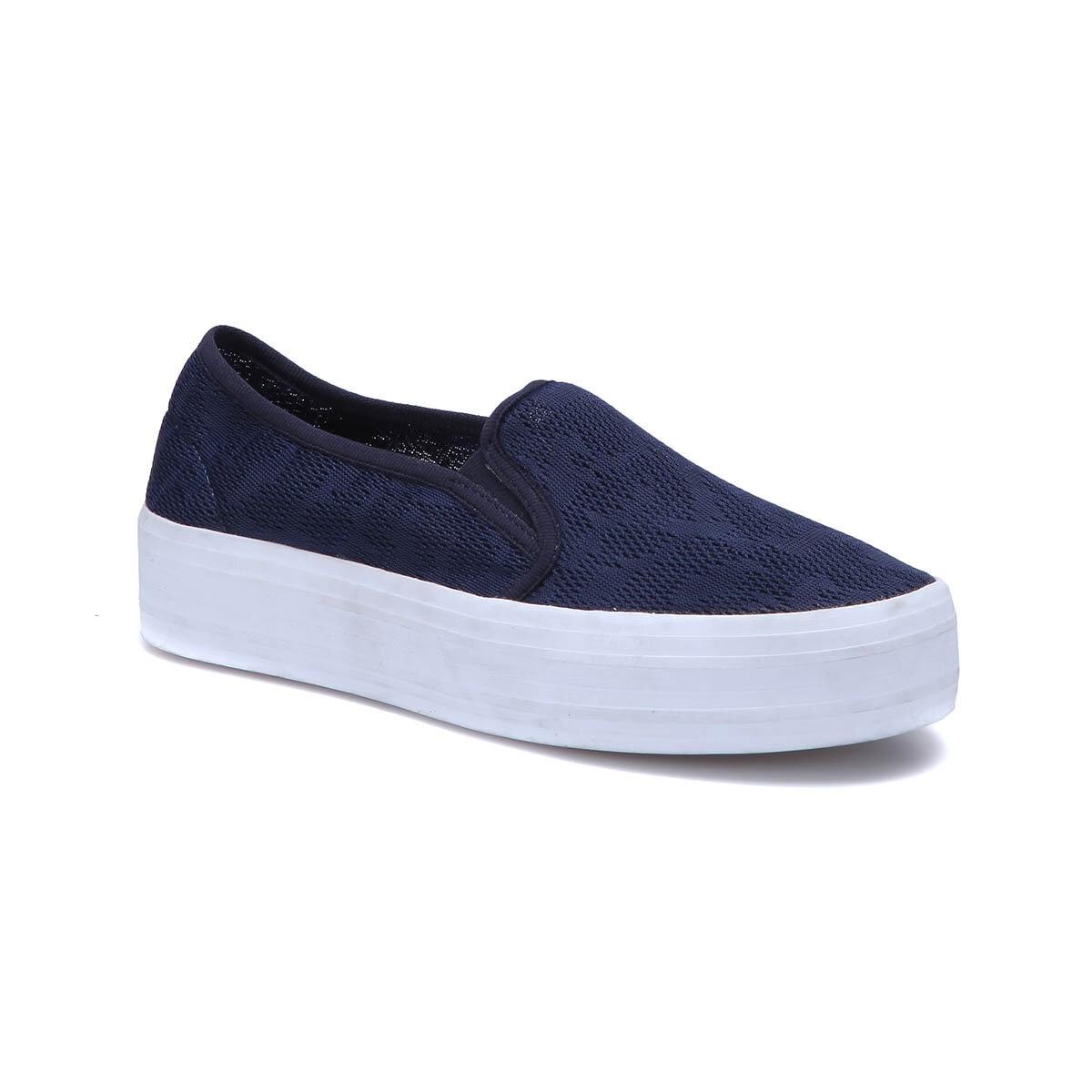 FLO C18032 Navy Blue Women 'S Slip On Shoes Art Bella