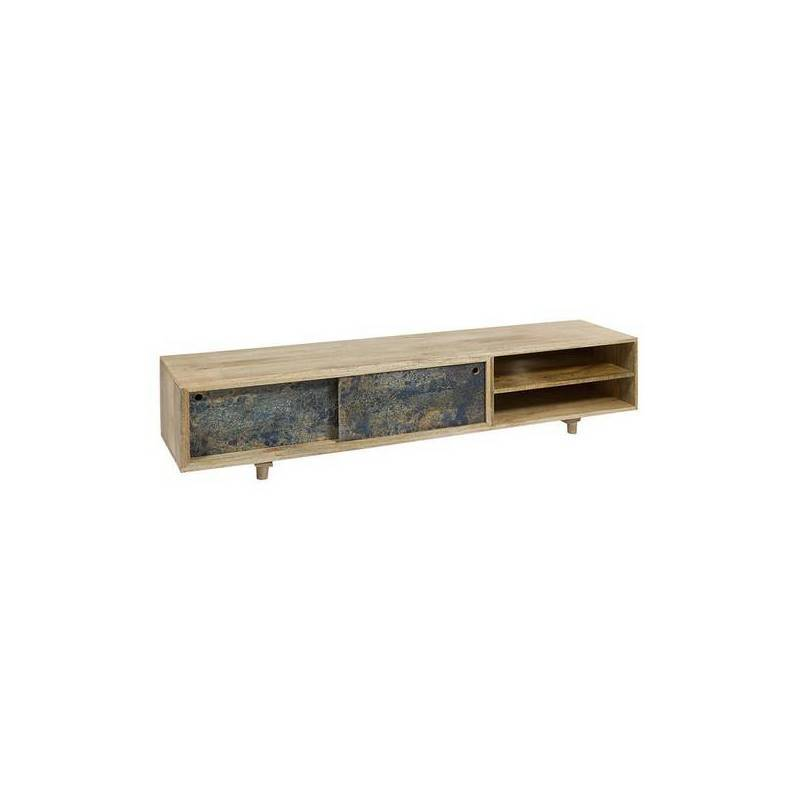 TV Table Wooden Handle (180x40x38 Cm)
