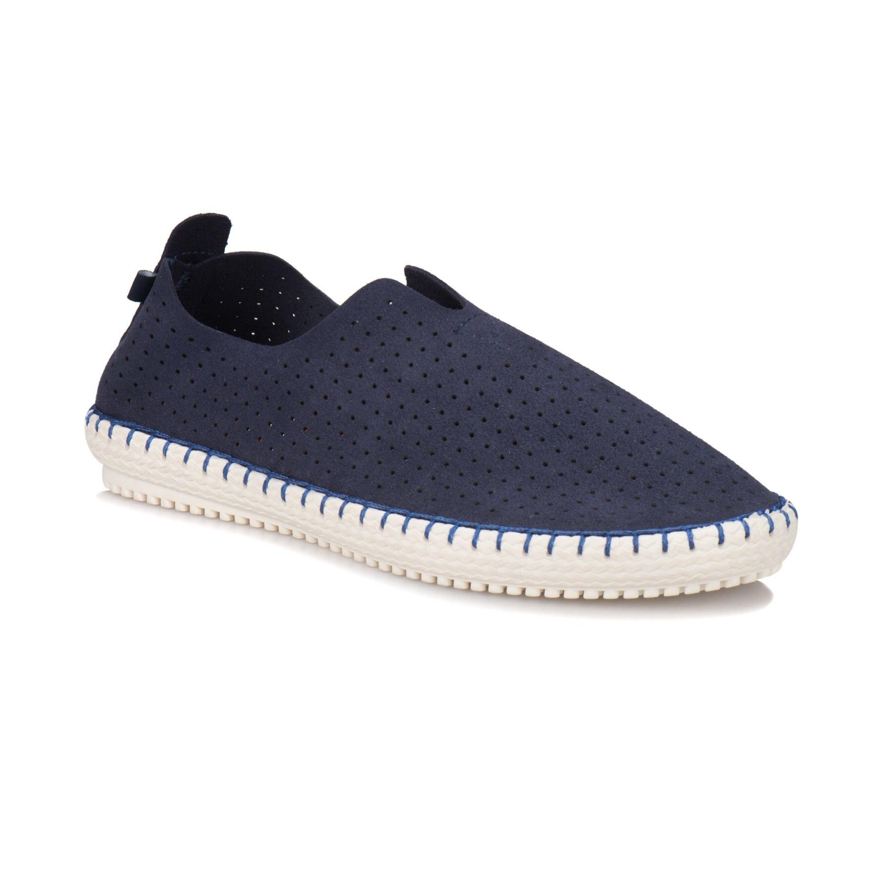 FLO REYNO Navy Blue Men 'S Shoes KINETIX