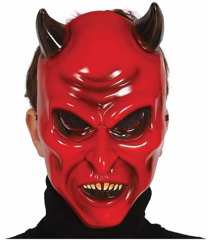 MASK DEMON PVC GUIRCA Toy Store Articles Created Handbook