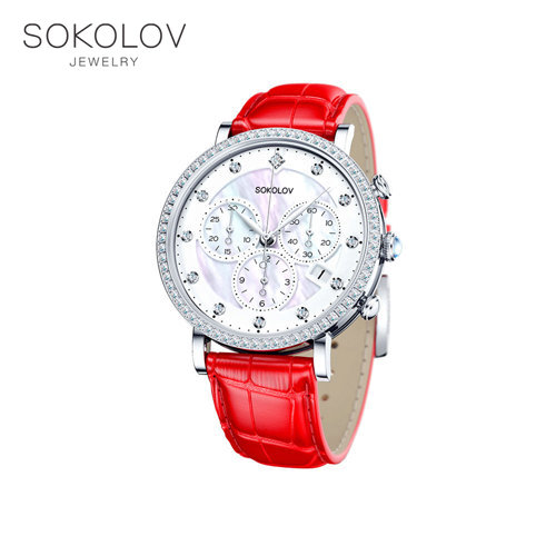 Women's Silver SOKOLOV Watch Fashion Jewelry 925 Women's Male, Wrist Watch, Women's Watches Female, Women's Brand Watches, Silver Watches, Quartz Watch